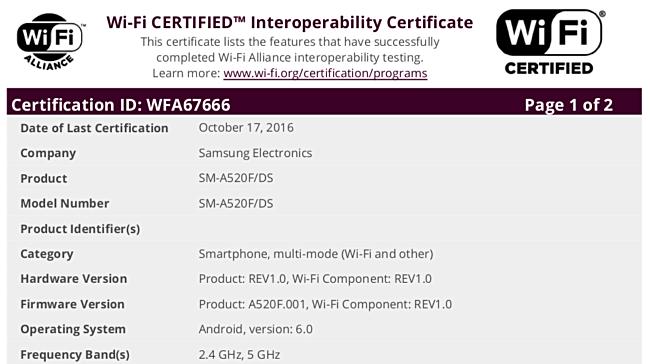 samsung-galaxy-a5-2017-certification