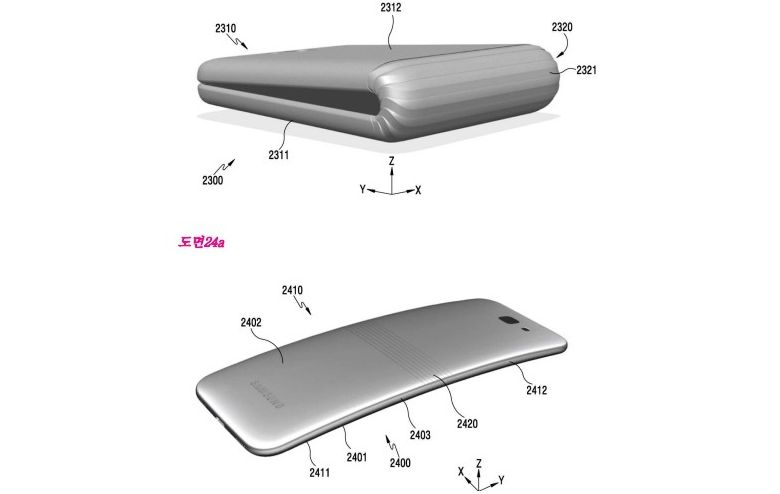 Samsung-Galaxy-X-foldable-phone-patent